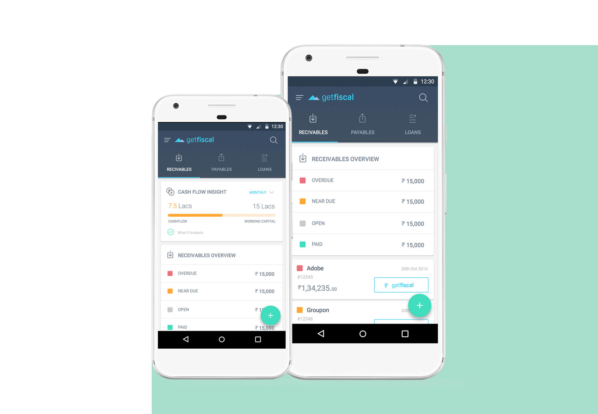 Numberz-Manage your day-to-day cash flow
