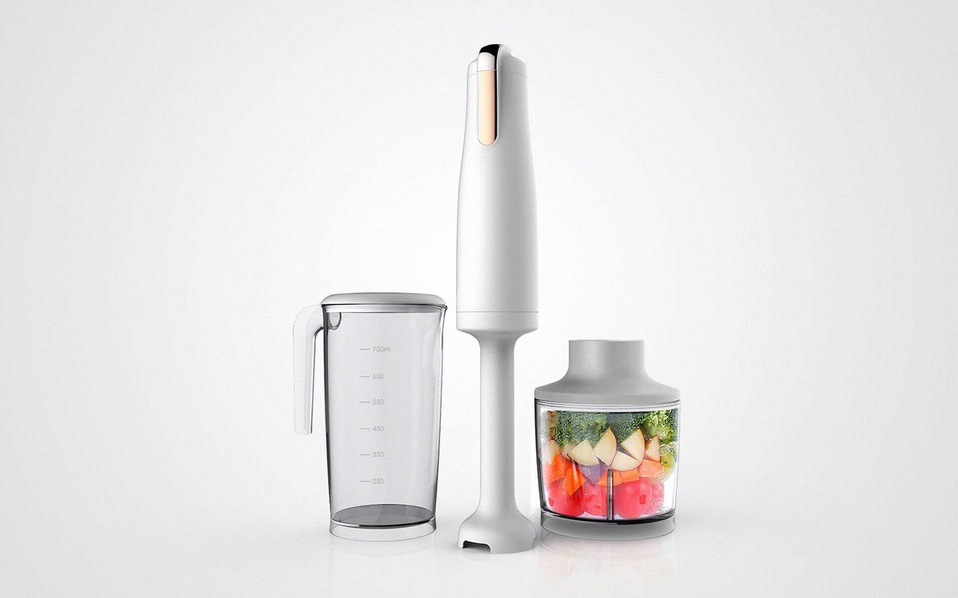 Hand Blender-A blender is a kitchen and laboratory appliance used to mix, purée, or emulsify food and other substances